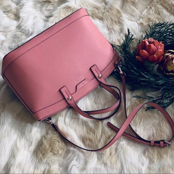 97318daa014 henri bendel Handbags - HENRI BENDEL Large bag pink saffiano PERSONALIZED